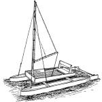 Velero – como hacer UN VELERO o PRAO tipo CATAMARAN o triamaran