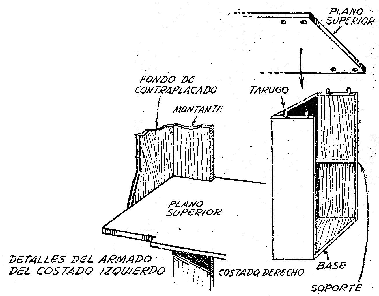 Como hacer un escritorio de madera como hacer Proyectos en madera gratis