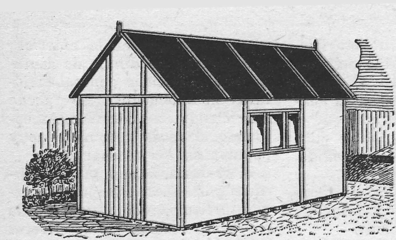 Como hacer un galpon o cobertizo como hacer for Galpon de madera para jardin