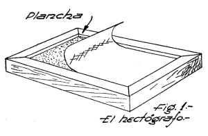 como hacer un hectografo 1