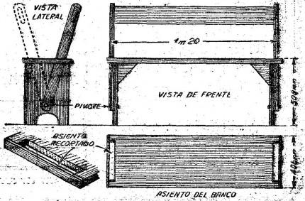 Como hacer UNA BANCA PARA EL JARDIN (MUEBLES de madera)