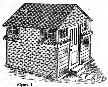 como hacer una cabaña de madera para turistas