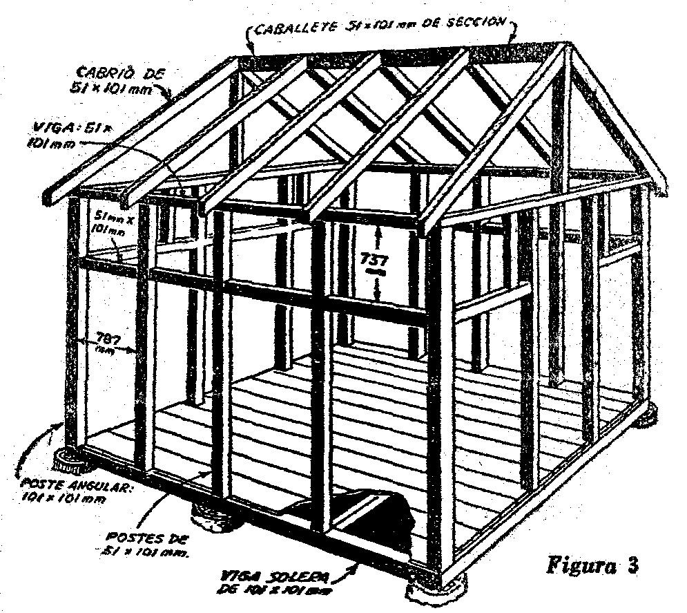 Como hacer una caba a de madera para turistas como hacer - Como hacer una casa de madera para ninos ...