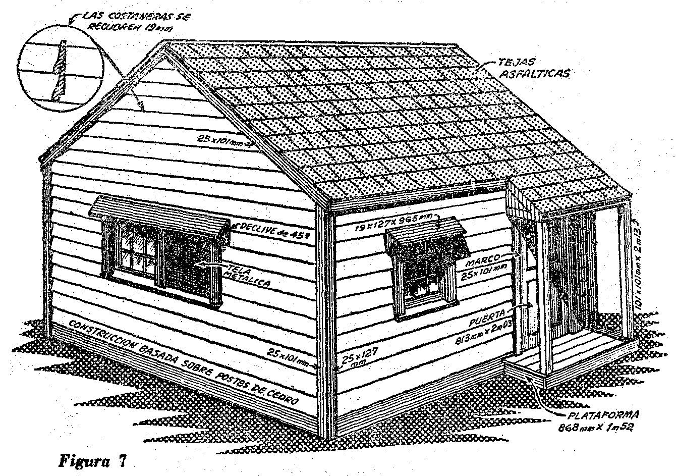 Como hacer una caba a de madera para turistas como hacer for Crear una cubierta de madera