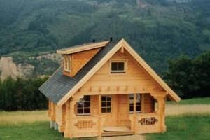 como hacer una casa de madera