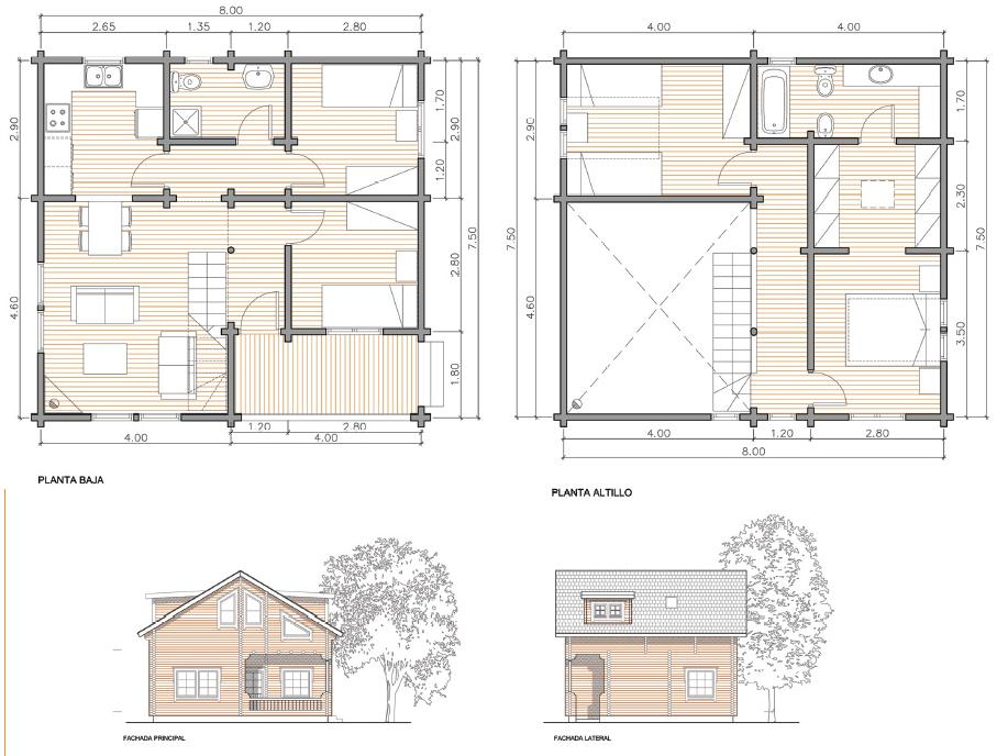 Como construir una casa de madera paso a paso como hacer for Come pianificare la costruzione di una casa