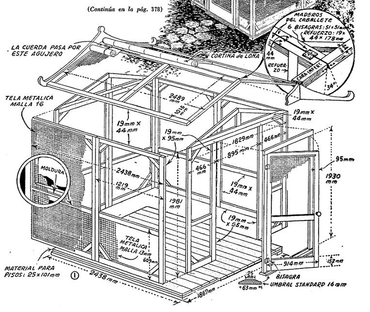 Como hacer una casa de jard n como hacer instrucciones for Casa y jardin tienda