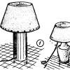Como hacer una LAMPARA DE VELADOR 1