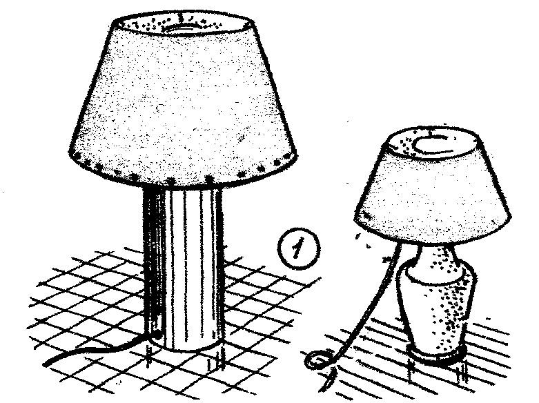 Como hacer una lampara de velador 1 como hacer - Como hacer una lampara ...