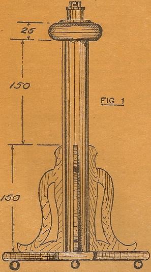 Como hacer una lampara para mesa 2 como hacer - Como hacer una lampara de pared ...