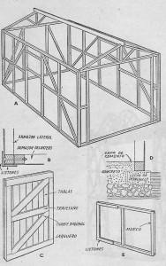 Garaje portatil3 como hacer instrucciones y planos gratis for Garaje portatil