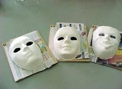 Mascaras De Yeso Hágalo Usted Mismo Como Hacer