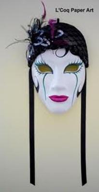 mascaras de yeso