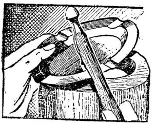 metal trabajado a martillo 1