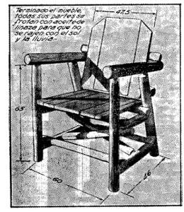 muebles rusticos para el jardin 1