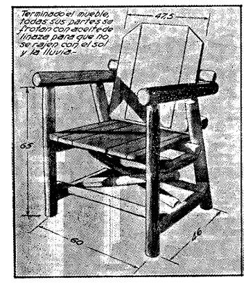 Como hacer muebles rusticos para el jardin como hacer for Como hacer herrajes rusticos