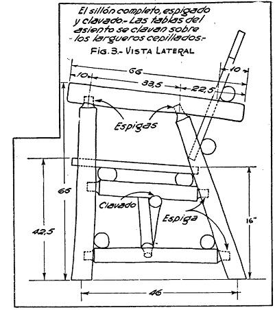 Como hacer muebles rusticos para el jardin como hacer Planos para hacer muebles