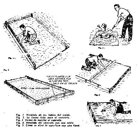 Como hacer un piso de concreto