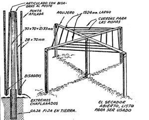 secador o tendero plegadizo 2