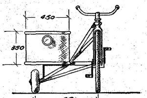 como hacer un sidecar para bicicleta