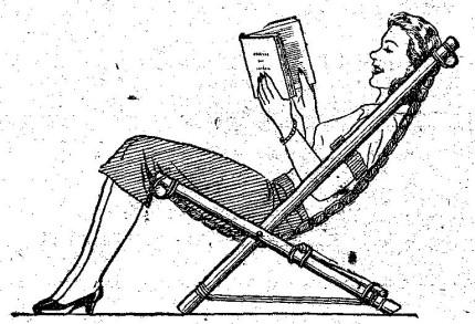 Como hacer una silla de madera plegable para el jardin for Silla escalera de madera plegable