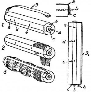 guardar corbatas - como hacer un rodillo para corbatas