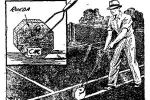 como marcar canchas de teniss