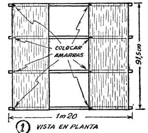Como hacer una cometa barrilete de cajon