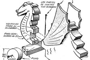 Como hacer JUGUETES DE MADERA - carrito DRAGON