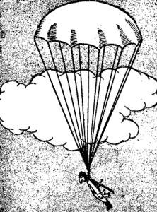 Como hacer juguetes de madera - el paracaidista 9