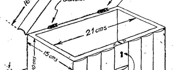 Como hacer un COFRE DE MADERA - Cofre SECRETO 2