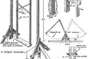 Como hacer un COLUMPIO de madera EFECTO OLA