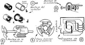 Como hacer un MOTOR ELECTRICO casero 5