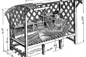 Como hacer un SOFA siesta para el JARDIN 1