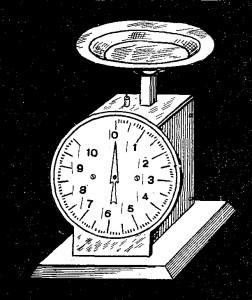Como hacer una BALANZA o BASCULA tipo reloj