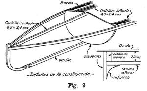 Como hacer una CANOA DE LONA 12