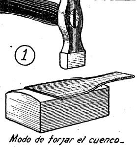 Como hacer una CUCHARA - Trabajos en METAL