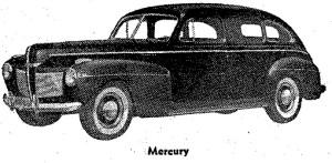 Carros antiguos - Historia de los CARROS ANTIGUOS - 1941 Mercury