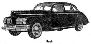 Carros antiguos - Historia de los CARROS ANTIGUOS - 1941 Nash
