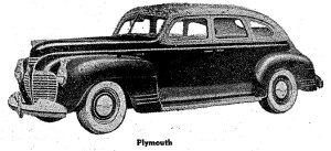 Carros antiguos - Historia de los CARROS ANTIGUOS - 1941 Plymouth