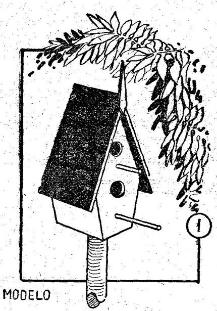 Como hacer una PAJARERA casa de aves o pajareras