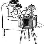 Como hacer una mesa de LECTURA con ESTANTE GIRATORIO