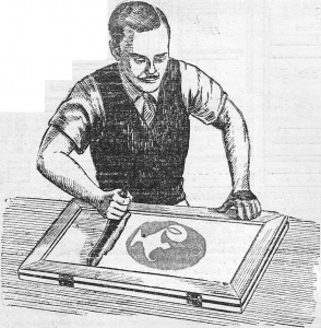 como hacer afiches - serigrafia