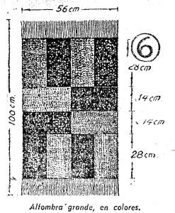 como hacer alfombras