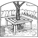 Como hacer muebles de madera paso a paso. Muebles de madera rústicos para jardín