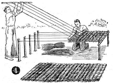 Techos DE PAJA - techos de QUINCHOS - Como hacer techos