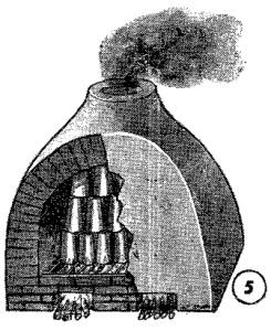 como hacer tejas de barro 6