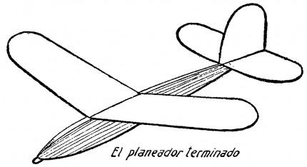 como hacer un avion planeador