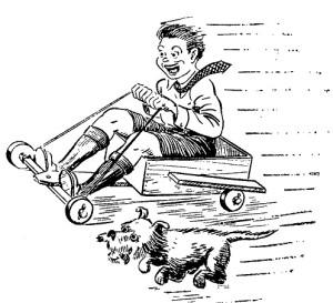como hacer un carro de madera 1