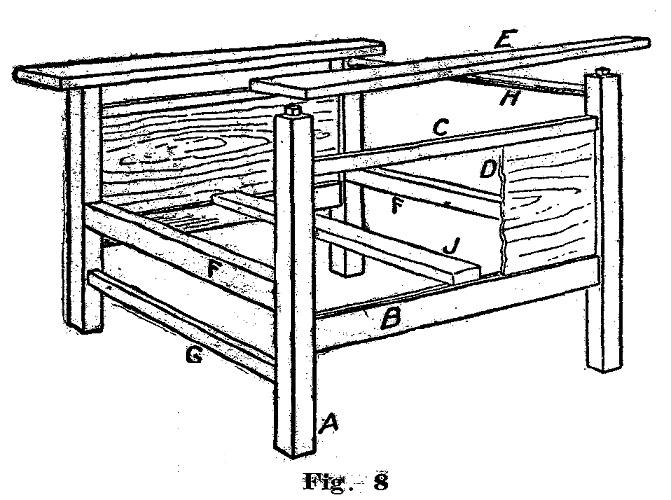 como hacer un sillon ajustable para el jardin 4